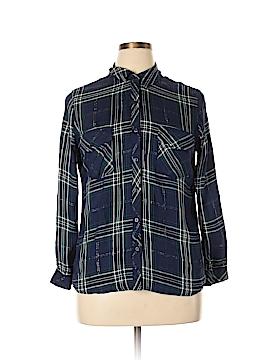 Maison Jules Long Sleeve Blouse Size XL