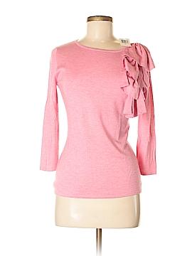 Saks Fifth Avenue Silk Pullover Sweater Size M