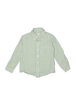 Talbots Kids Long Sleeve Button-Down Shirt Size 5