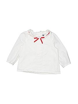 Janie and Jack Long Sleeve Blouse Size 12-18 mo