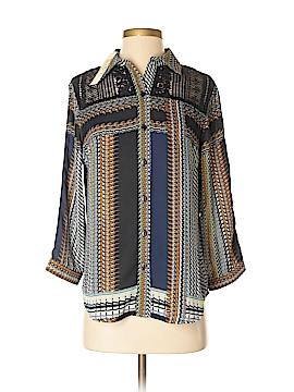Antilia Femme Long Sleeve Blouse Size S