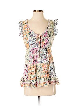 Lulumari Short Sleeve Blouse Size S