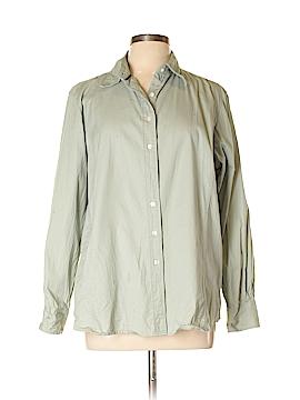 Devon & Jones Long Sleeve Button-Down Shirt Size XL
