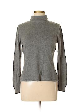 Casual Corner Silk Pullover Sweater Size L