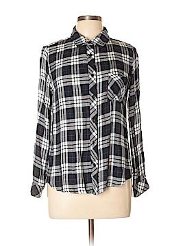 Le Lis Long Sleeve Button-Down Shirt Size M