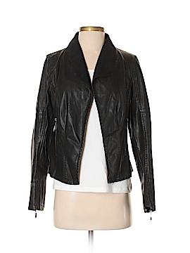 C.Luce Faux Leather Jacket Size S