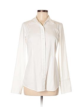CAbi Long Sleeve Button-Down Shirt Size 4