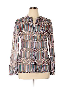 Neiman Marcus Long Sleeve Blouse Size L