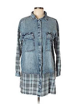 Hayden Long Sleeve Button-Down Shirt Size L