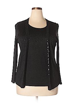 Elementz Long Sleeve Top Size 1X (Plus)