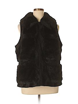 RLZ Faux Fur Vest Size XL