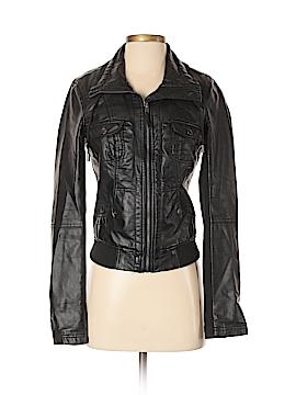 Garage Faux Leather Jacket Size S