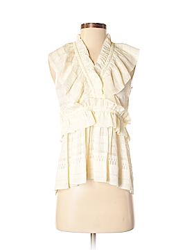IRO Sleeveless Silk Top Size 36 (FR)
