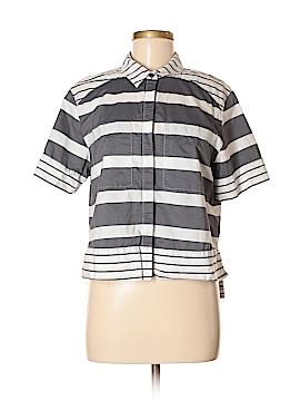 Halogen Short Sleeve Button-Down Shirt Size M
