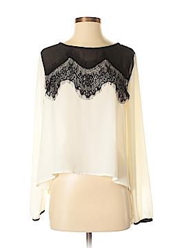 Xhilaration Long Sleeve Blouse Size S