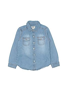 OshKosh B'gosh Long Sleeve Button-Down Shirt Size 4T
