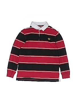 Chaps Long Sleeve Polo Size 12