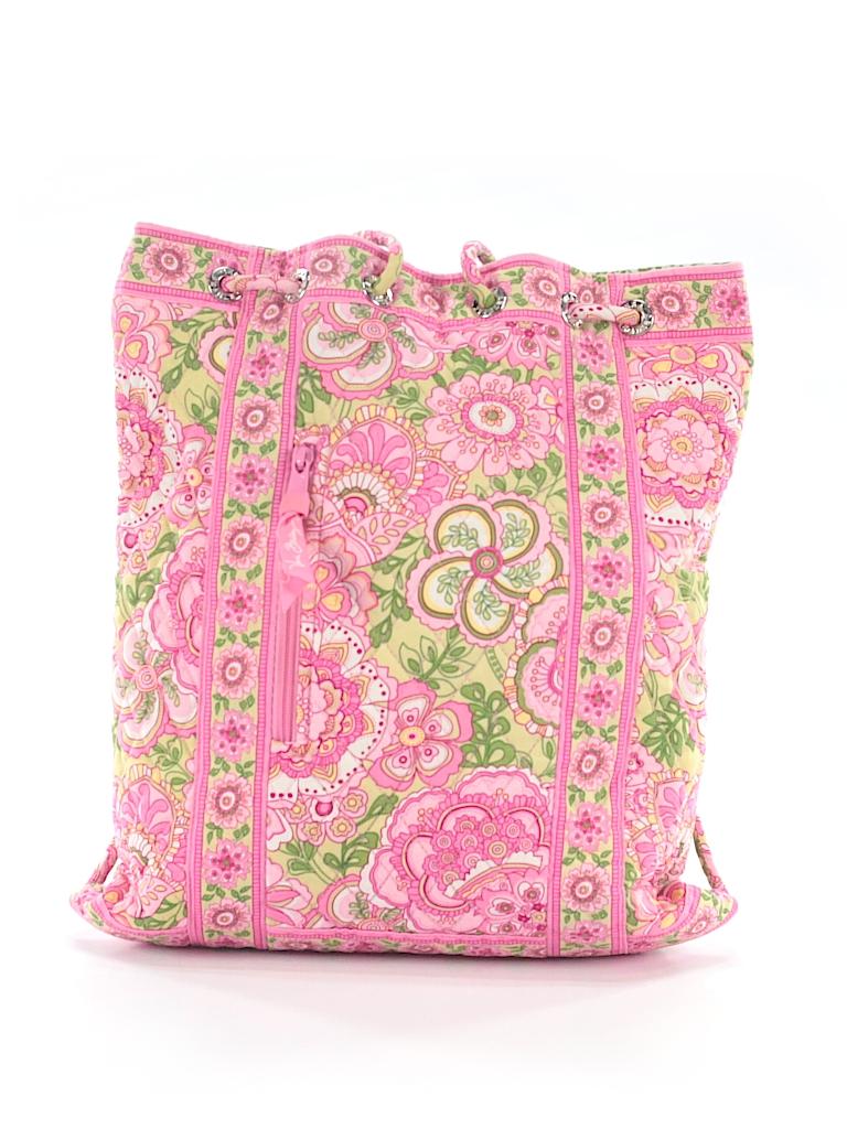 8ea2f37062e4 Vera Bradley 100% Cotton Floral Light Pink Backpack One Size - 61 ...
