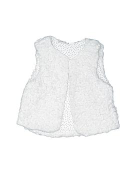 Zara Faux Fur Vest Size 2 - 3