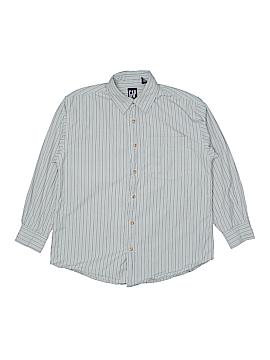 Gap Long Sleeve Button-Down Shirt Size X-Large (Kids)