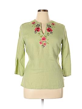 JM Collection 3/4 Sleeve Blouse Size 12 (Petite)