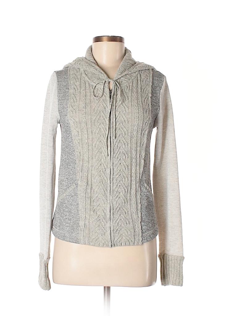 Mystree Women Wool Cardigan Size M