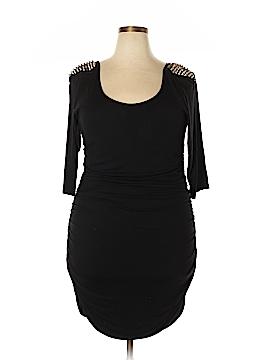FASHION TO FIGURE Casual Dress Size 3X Plus (3) (Plus)