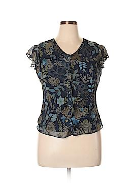 Covington Outlet Short Sleeve Blouse Size 10
