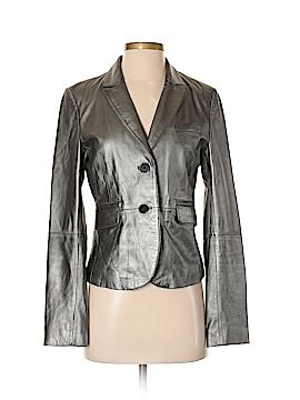 Philippe Adec Paris Leather Jacket Size 4
