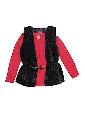 Faded Glory Faux Fur Vest Size S (Kids)