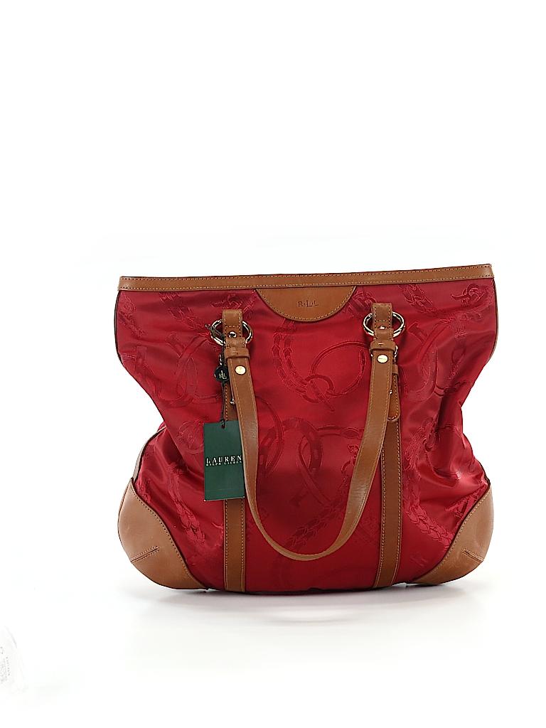 f83fdabef0 Lauren by Ralph Lauren Print Red Tote One Size - 60% off | thredUP