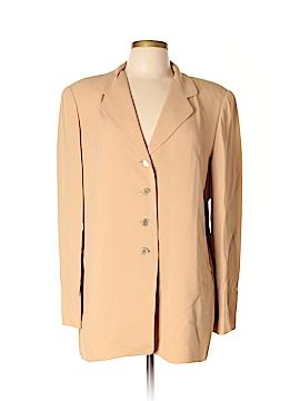 Linda Allard Ellen Tracy Silk Blazer Size 14
