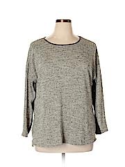 Apt. 9 Women Pullover Sweater Size 0X (Plus)
