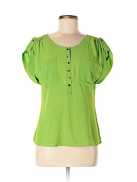 Double Zero Short Sleeve Blouse Size M