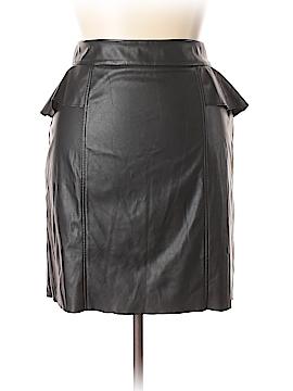 Sofia by Sofia Vergara Faux Leather Skirt Size 18 (Plus)