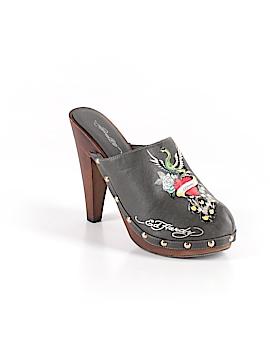 Ed Hardy Mule/Clog Size 8