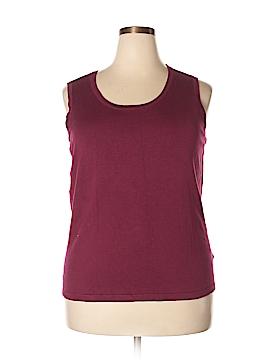 Laura Ashley Sweater Vest Size 2X (Plus)
