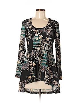 24/7 Comfort Apparel Long Sleeve Blouse Size M