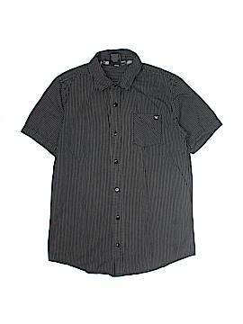 Shaun White Short Sleeve Button-Down Shirt Size L (Youth)