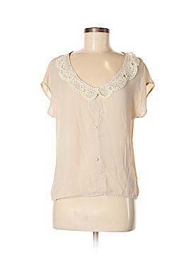B Sharp Short Sleeve Blouse Size S