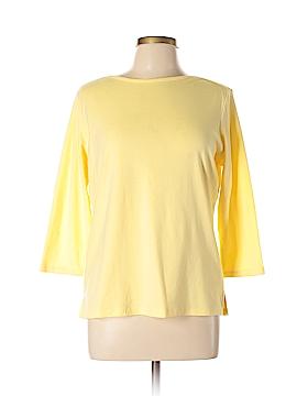 Draper's & Damon's 3/4 Sleeve T-Shirt Size L
