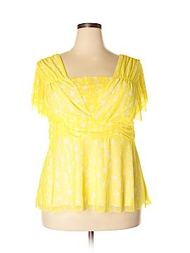 Chadwicks Short Sleeve Blouse Size 2X (Plus)