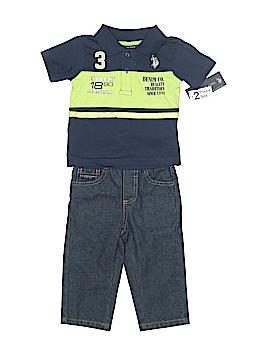 U.S. Polo Assn. Short Sleeve Polo Size 12 mo