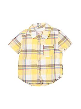 Genuine Kids from Oshkosh Short Sleeve Button-Down Shirt Size 24 mo