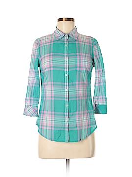 Kohl's 3/4 Sleeve Button-Down Shirt Size M