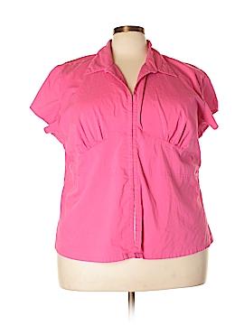 Carolina Colours Short Sleeve Blouse Size 26 - 28 (Plus)