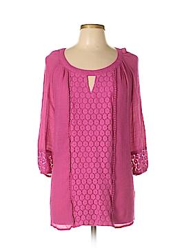 Valerie Stevens 3/4 Sleeve Blouse Size 1X (Plus)