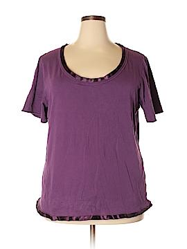 Bay Studio Short Sleeve Top Size 2X (Plus)