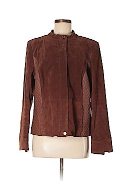Isaac Mizrahi LIVE! Leather Jacket Size 14