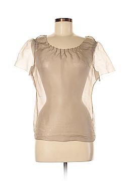 Vera Wang Short Sleeve Blouse Size 8